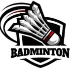 94887031-badminton-badge-logo-set-of-4-on-white-background-
